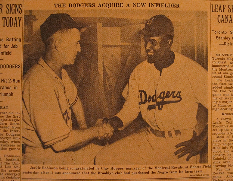 Jackie Robinson! Any information for a 10 page research paper?